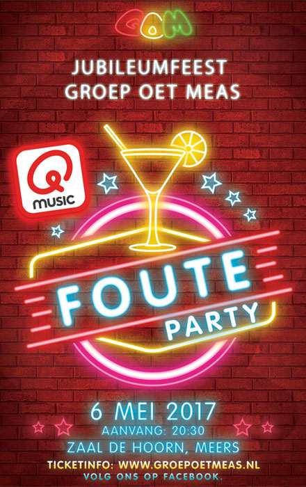 GOM - Qmusic Foute Party